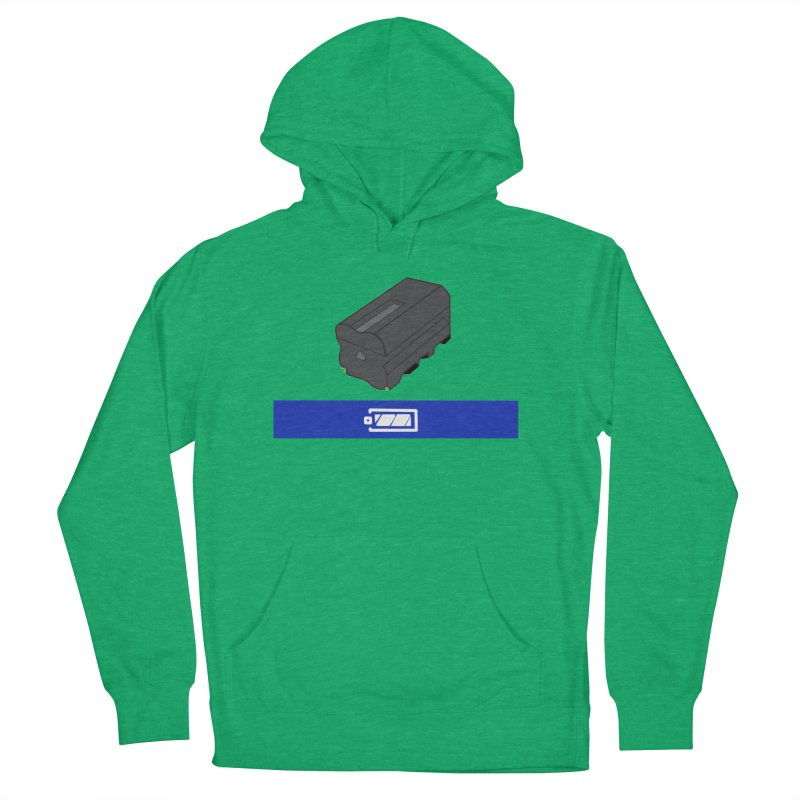 Fully Charged Men's Pullover Hoody by Sonyvx1000's Artist Shop