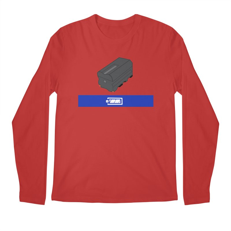 Fully Charged Men's Longsleeve T-Shirt by Sonyvx1000's Artist Shop