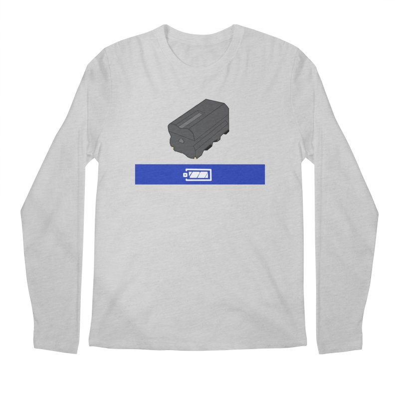 Fully Charged Men's Regular Longsleeve T-Shirt by Sonyvx1000's Artist Shop