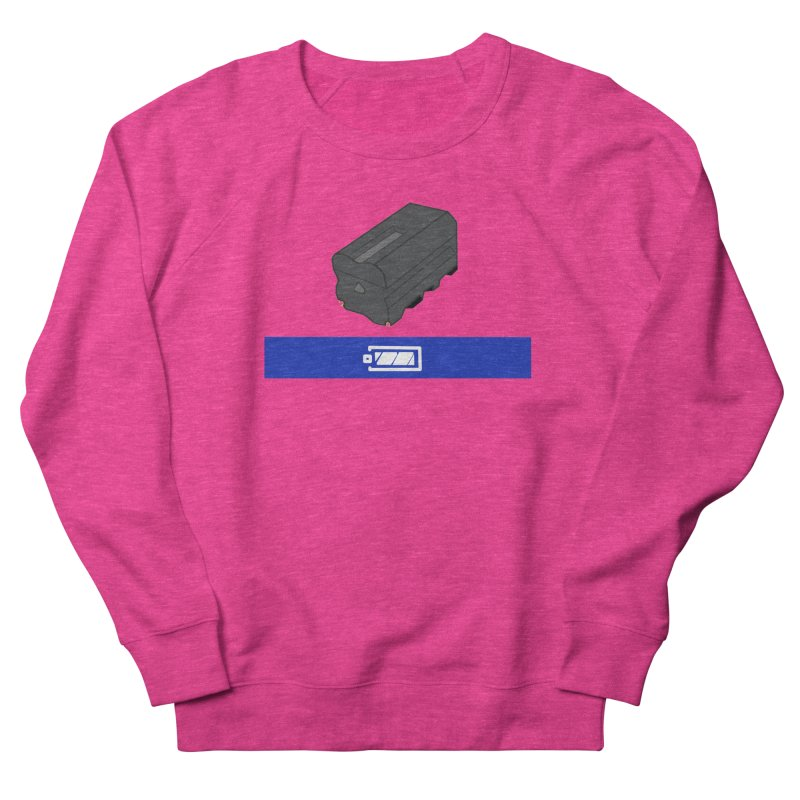 Fully Charged Women's Sweatshirt by Sonyvx1000's Artist Shop