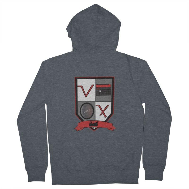 VX Coat of Arms Men's Zip-Up Hoody by Sonyvx1000's Artist Shop