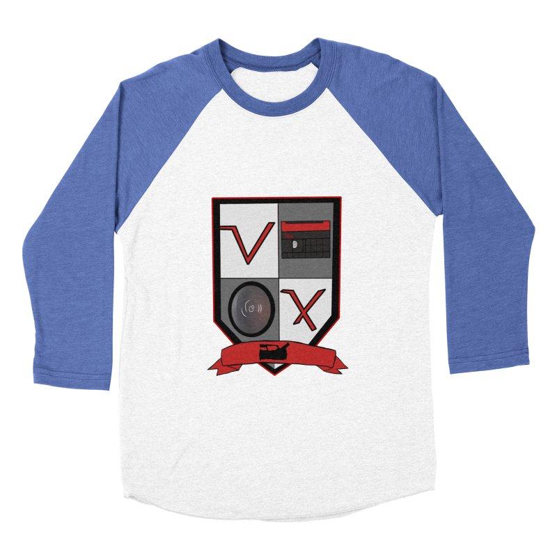 VX Coat of Arms Women's Baseball Triblend T-Shirt by Sonyvx1000's Artist Shop
