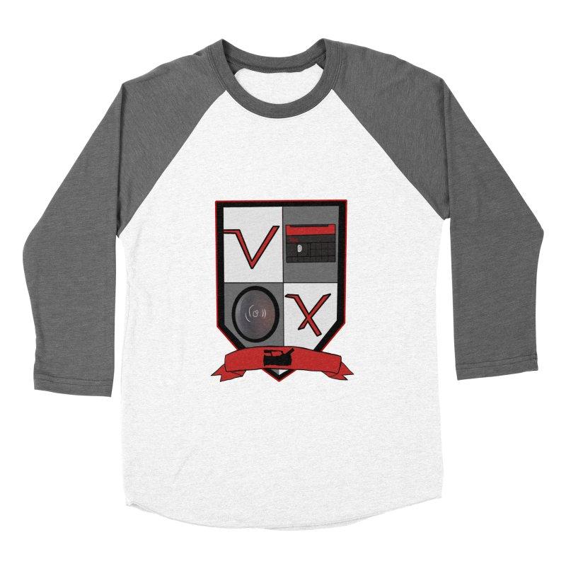 VX Coat of Arms Men's Baseball Triblend T-Shirt by Sonyvx1000's Artist Shop