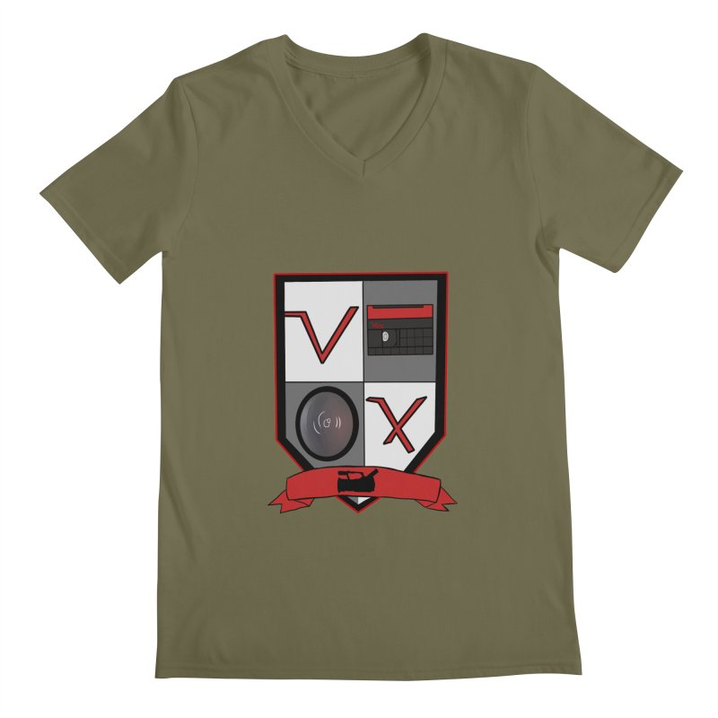 VX Coat of Arms Men's V-Neck by Sonyvx1000's Artist Shop