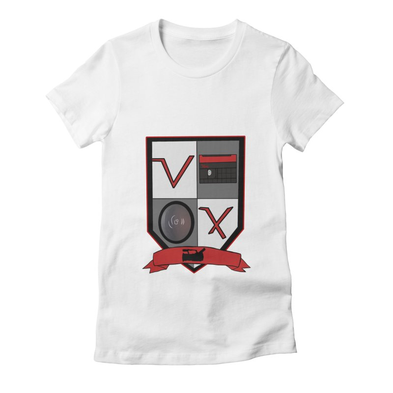 VX Coat of Arms Women's Fitted T-Shirt by Sonyvx1000's Artist Shop