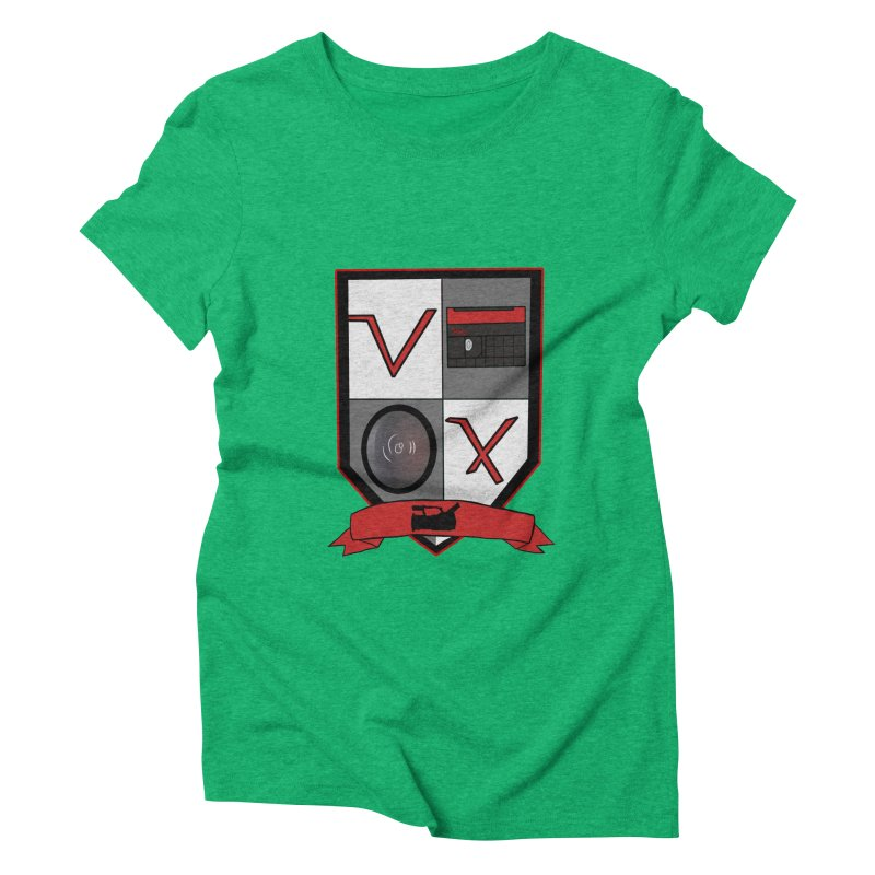 VX Coat of Arms Women's Triblend T-shirt by Sonyvx1000's Artist Shop