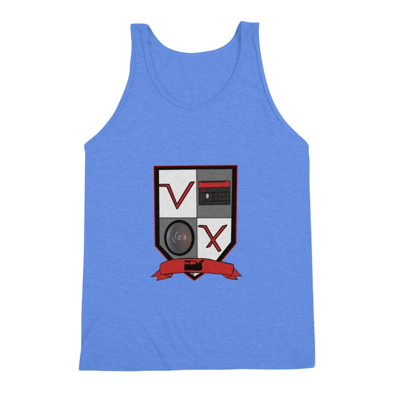 VX Coat of Arms Men's Triblend Tank by Sonyvx1000's Artist Shop