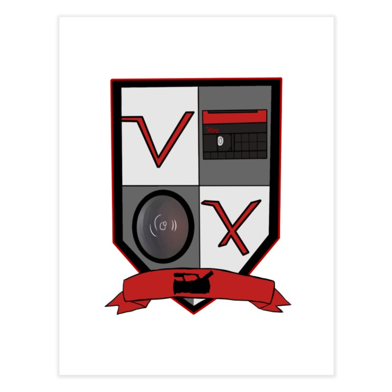 VX Coat of Arms Home Fine Art Print by Sonyvx1000's Artist Shop