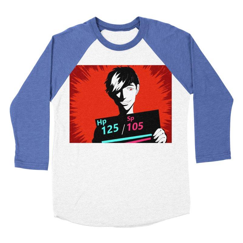 Hiro The Fox Men's Baseball Triblend T-Shirt by Sonyvx1000's Artist Shop