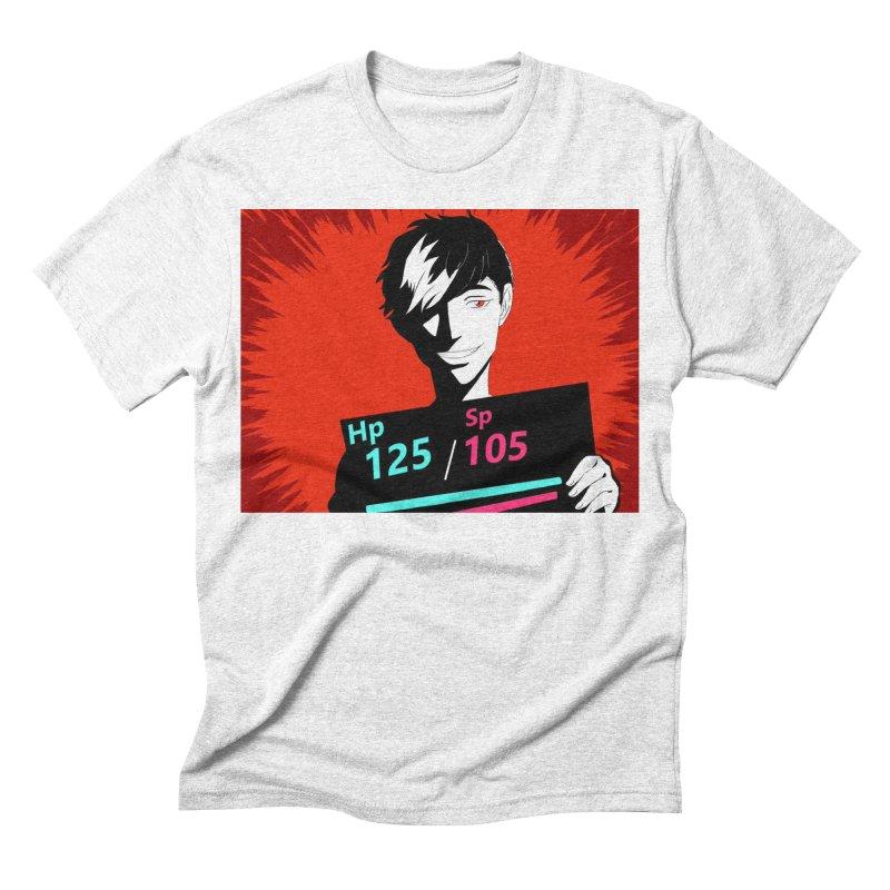 Hiro The Fox Men's Triblend T-shirt by Sonyvx1000's Artist Shop