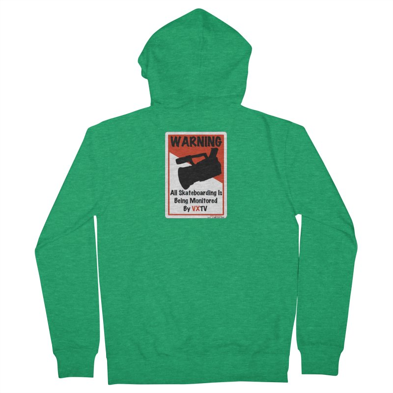 VXTV Men's Zip-Up Hoody by Sonyvx1000's Artist Shop