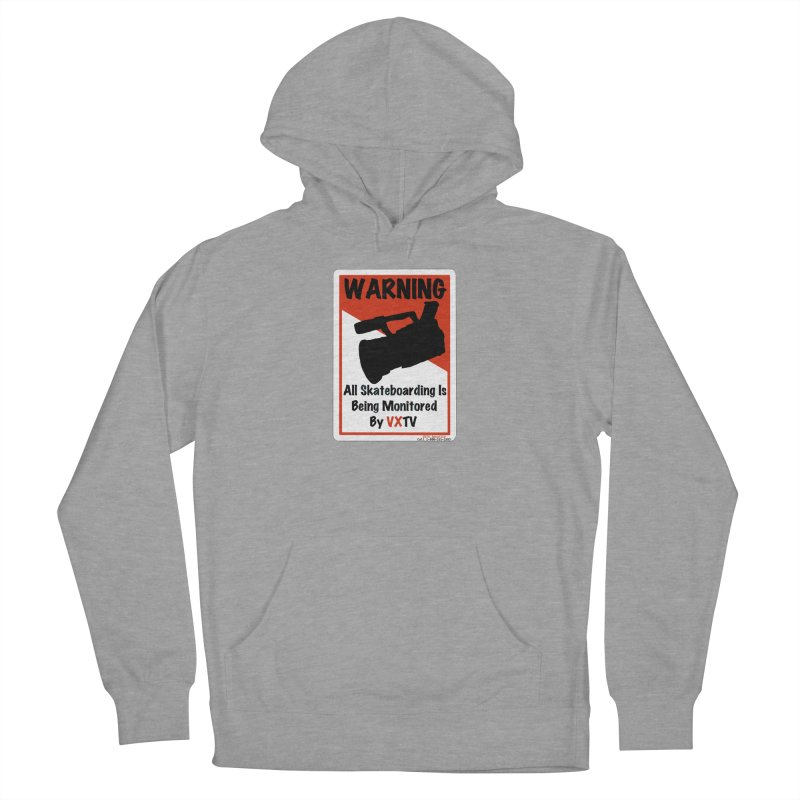 VXTV Women's French Terry Pullover Hoody by Sonyvx1000's Artist Shop