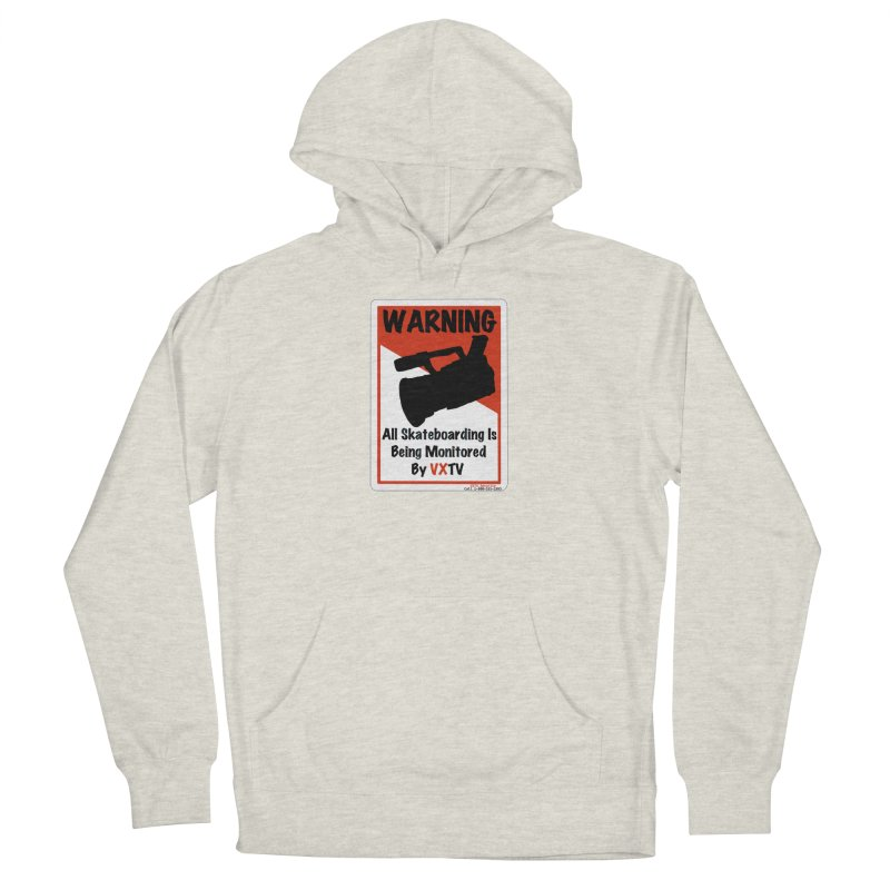 VXTV Men's French Terry Pullover Hoody by Sonyvx1000's Artist Shop