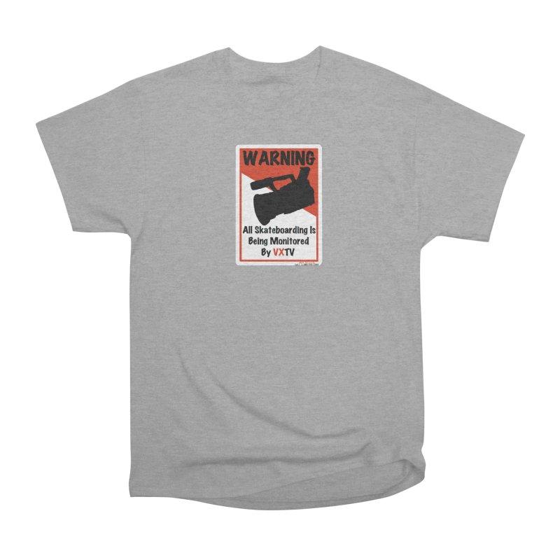 VXTV Men's Heavyweight T-Shirt by Sonyvx1000's Artist Shop