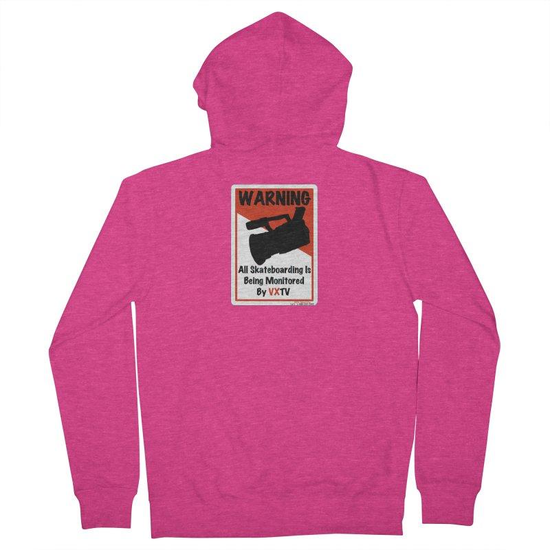 VXTV Women's Zip-Up Hoody by Sonyvx1000's Artist Shop