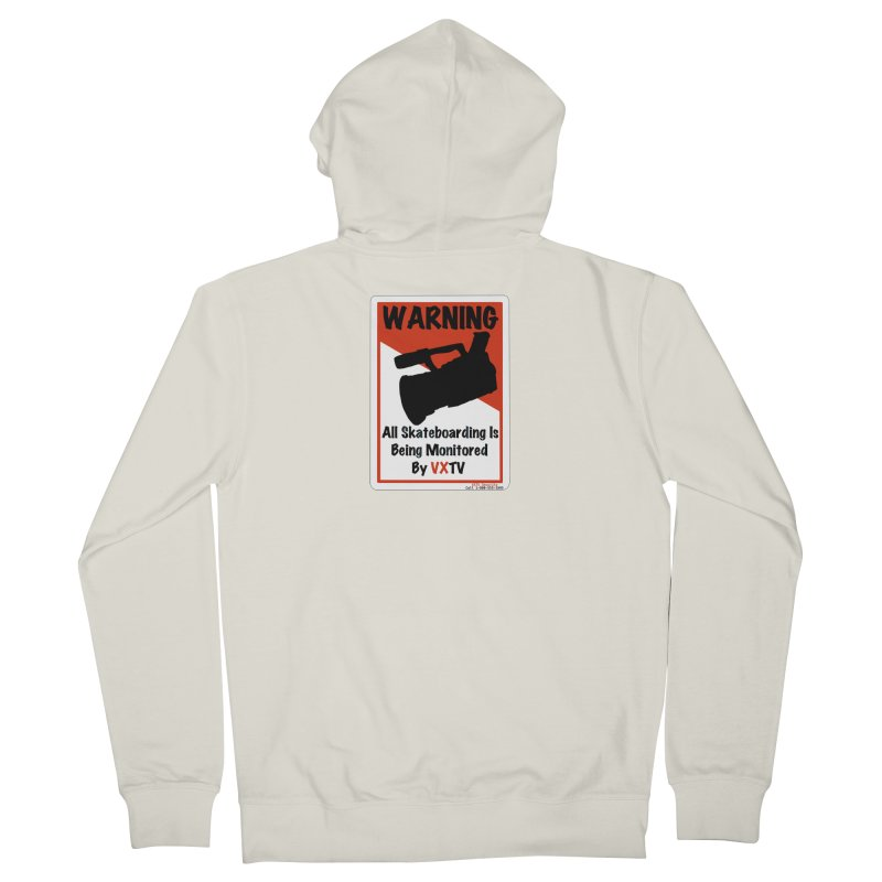 VXTV Women's French Terry Zip-Up Hoody by Sonyvx1000's Artist Shop