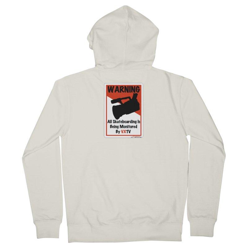 VXTV Men's Zip-Up Hoody by Sonyvx1000's Artist Shop
