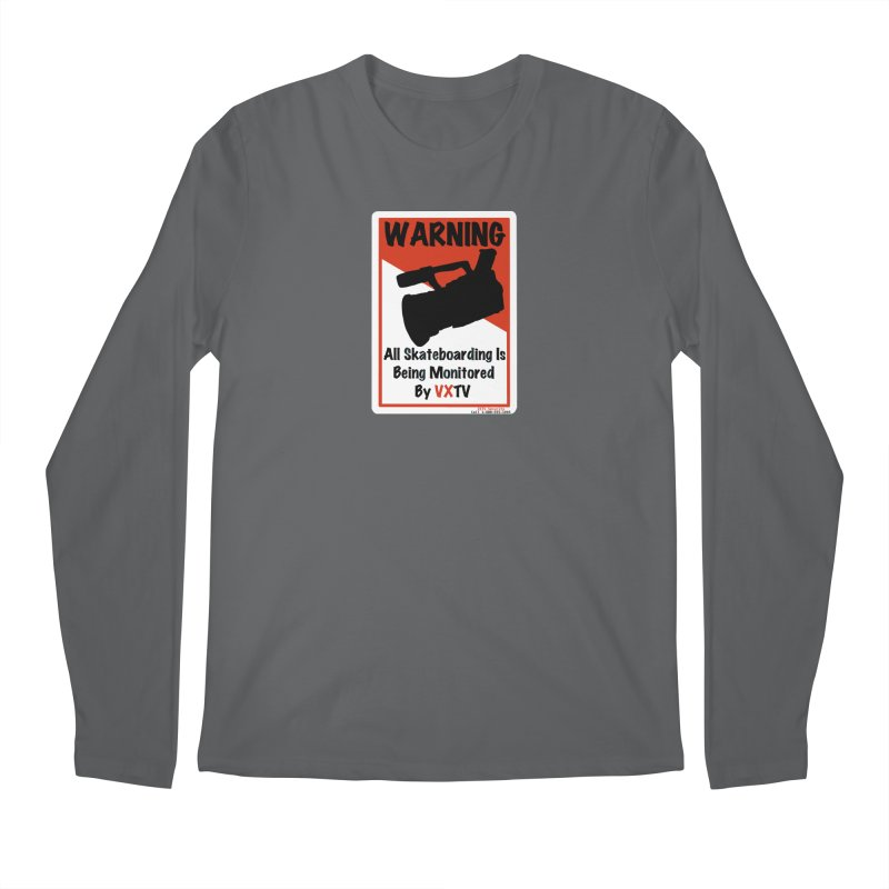 VXTV Men's Longsleeve T-Shirt by Sonyvx1000's Artist Shop