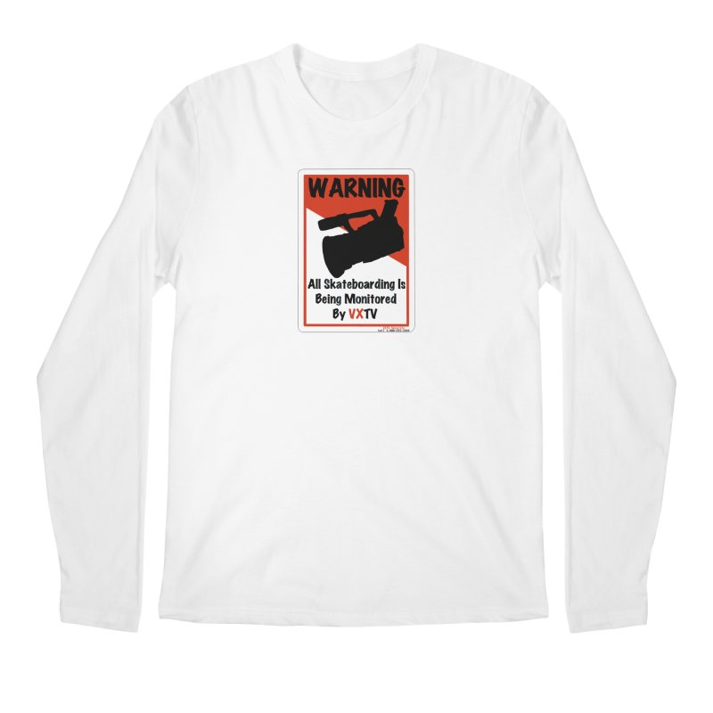 VXTV Men's Regular Longsleeve T-Shirt by Sonyvx1000's Artist Shop