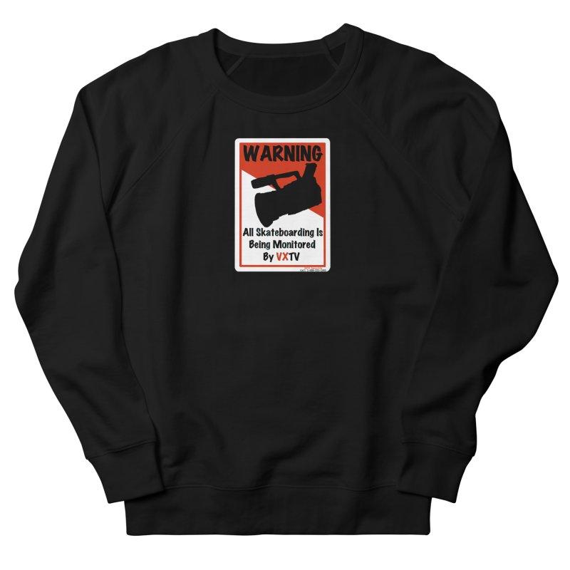 VXTV Women's French Terry Sweatshirt by Sonyvx1000's Artist Shop