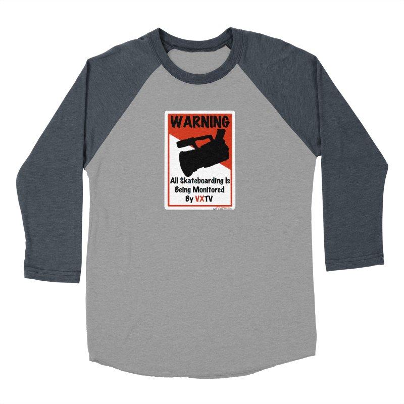 VXTV Women's Baseball Triblend Longsleeve T-Shirt by Sonyvx1000's Artist Shop