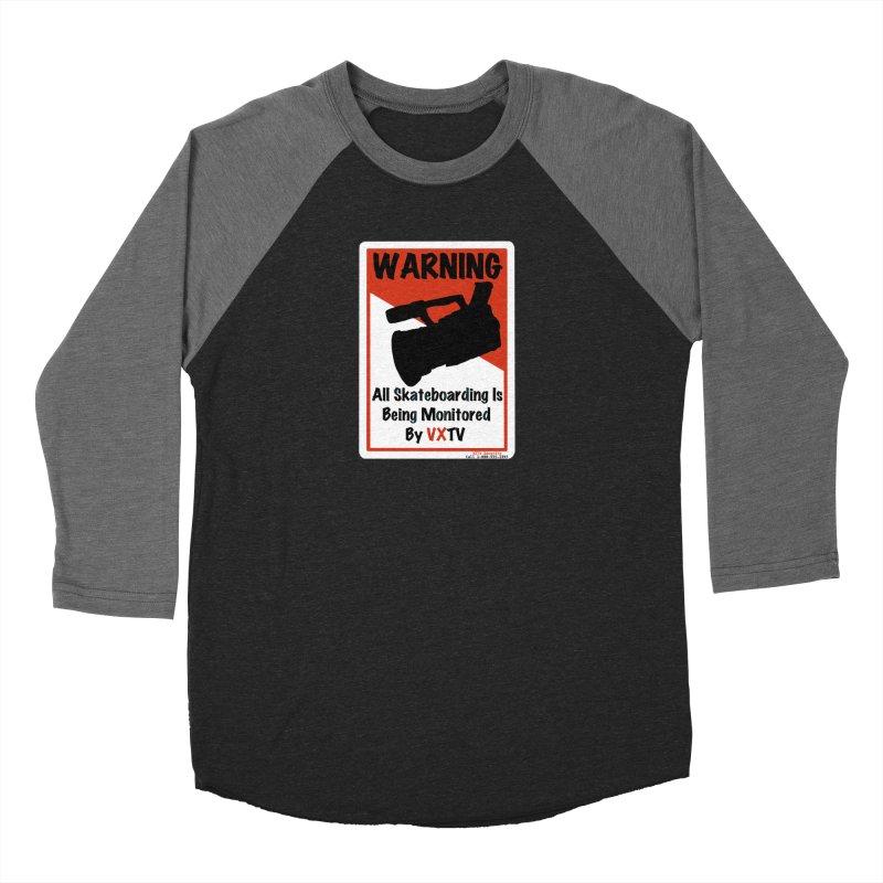 VXTV Men's Baseball Triblend T-Shirt by Sonyvx1000's Artist Shop