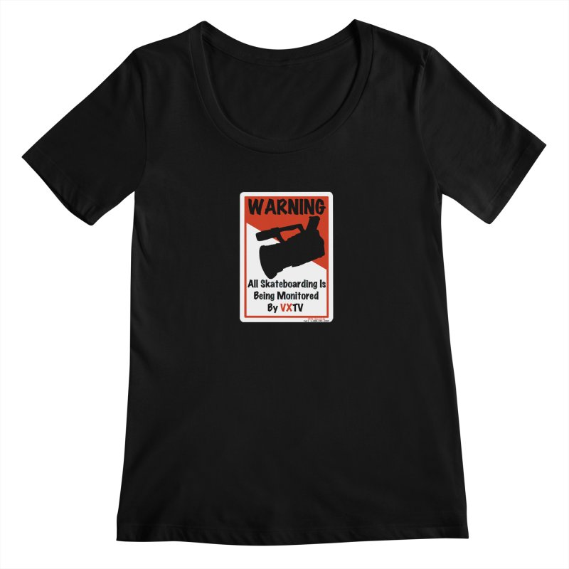VXTV Women's Scoopneck by Sonyvx1000's Artist Shop