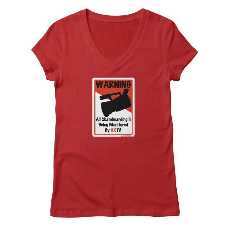 VXTV Women's V-Neck by Sonyvx1000's Artist Shop