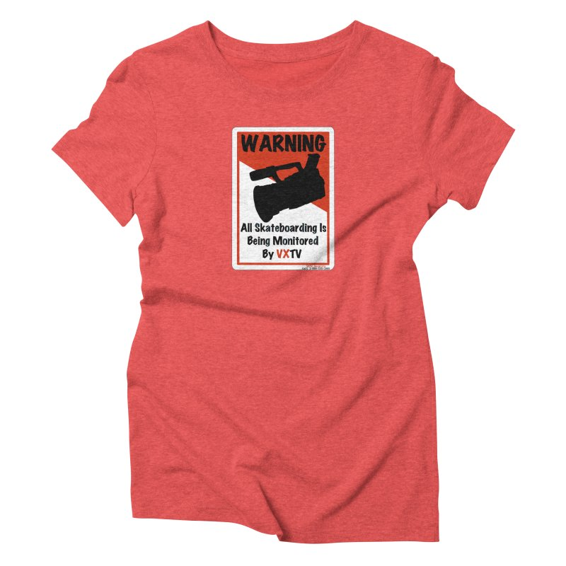 VXTV Women's Triblend T-shirt by Sonyvx1000's Artist Shop