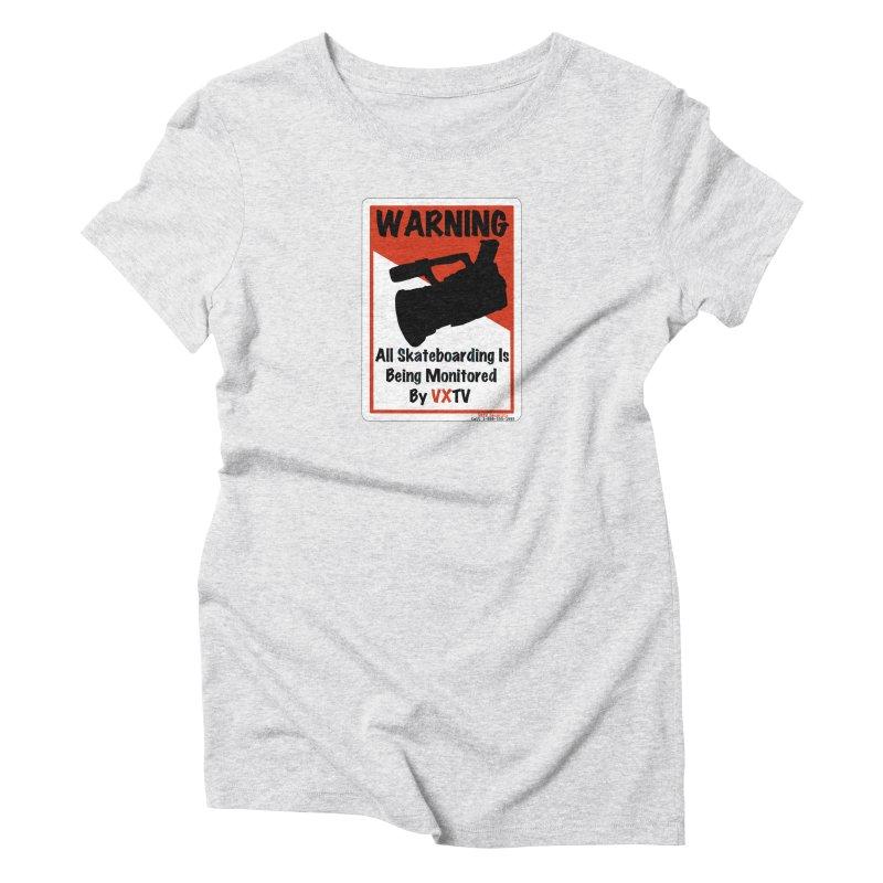 VXTV Women's Triblend T-Shirt by Sonyvx1000's Artist Shop