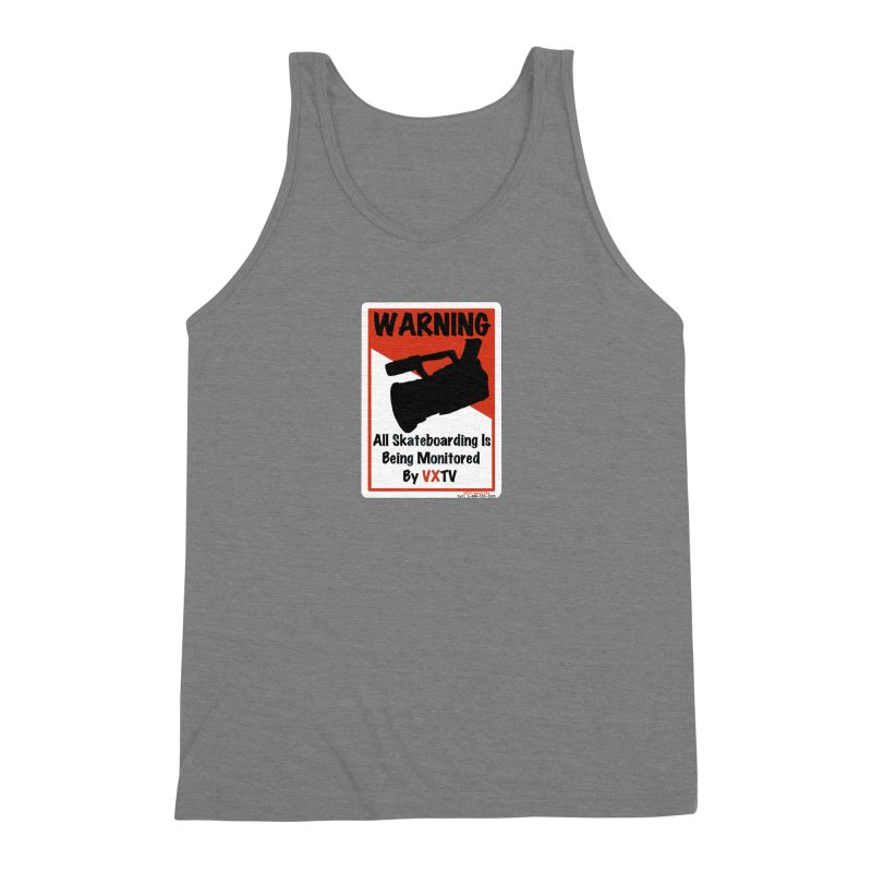 VXTV Men's Triblend Tank by Sonyvx1000's Artist Shop