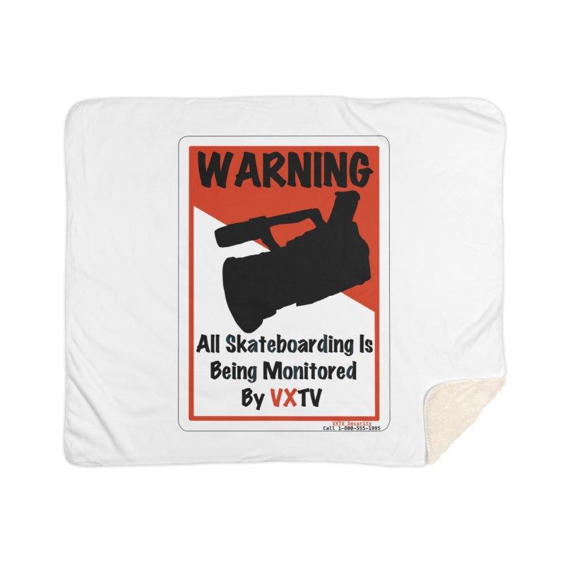 VXTV Home Sherpa Blanket Blanket by Sonyvx1000's Artist Shop