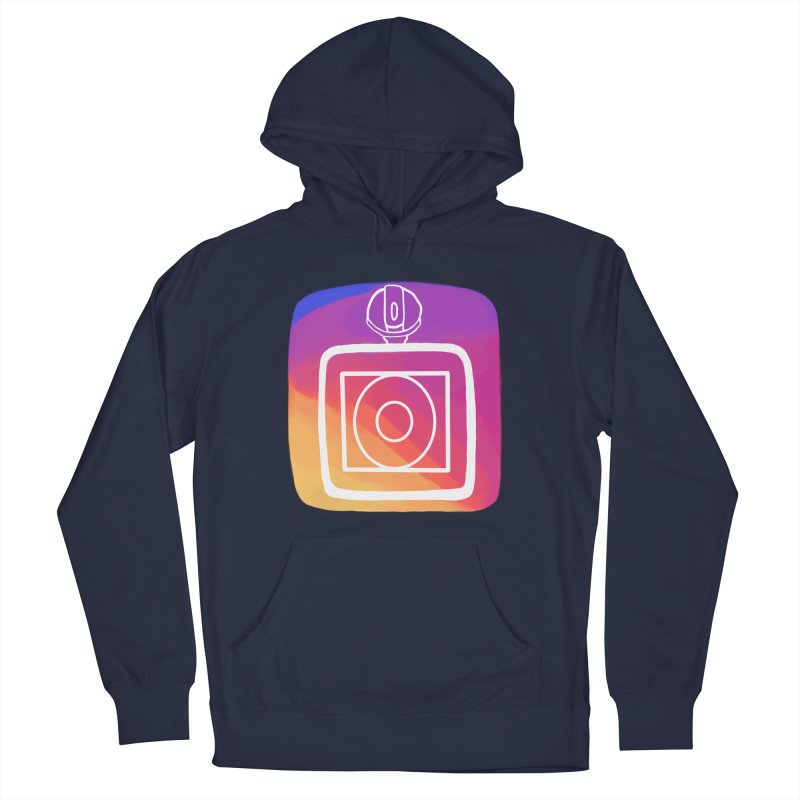 VXstagram Men's French Terry Pullover Hoody by Sonyvx1000's Artist Shop