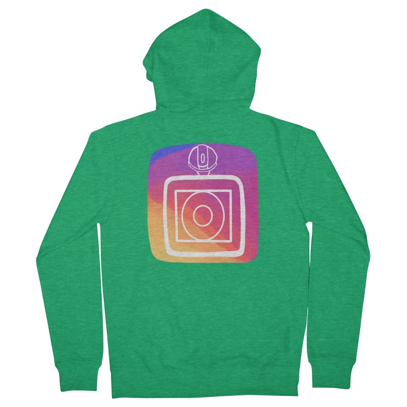 VXstagram Men's Zip-Up Hoody by Sonyvx1000's Artist Shop