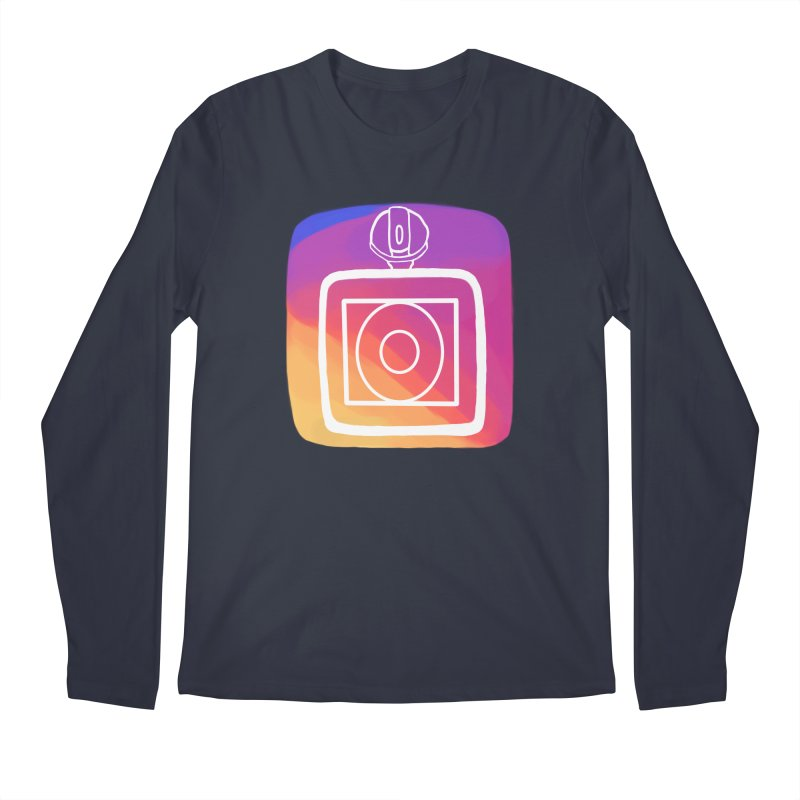 VXstagram Men's Longsleeve T-Shirt by Sonyvx1000's Artist Shop