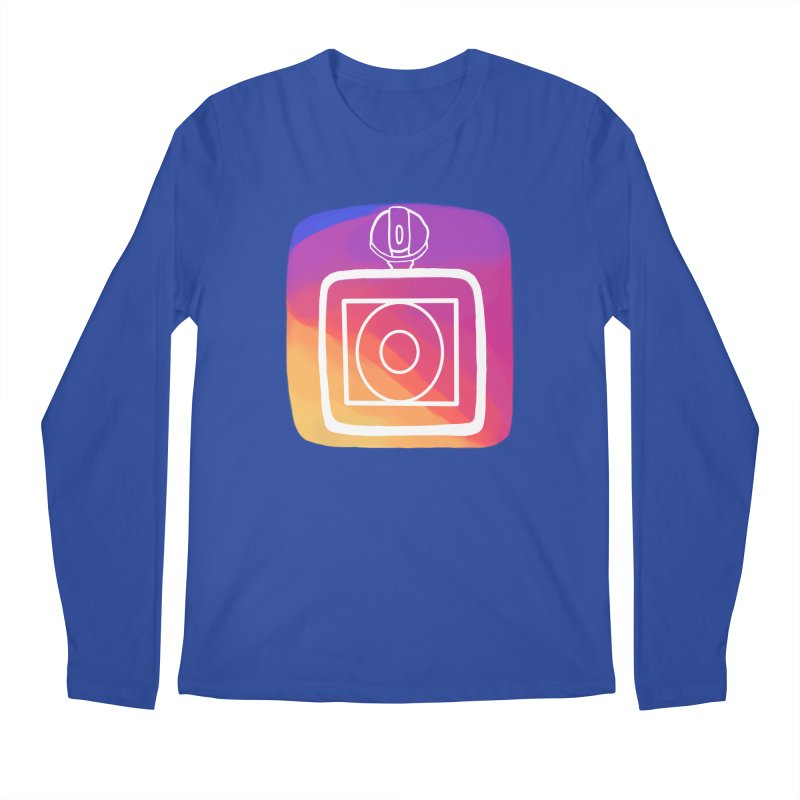 VXstagram Men's Regular Longsleeve T-Shirt by Sonyvx1000's Artist Shop
