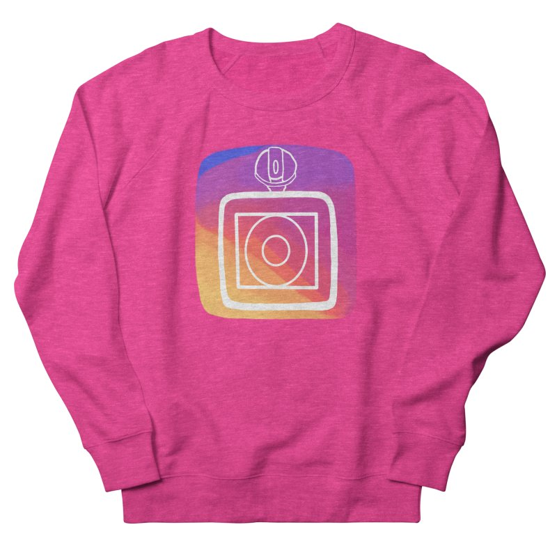 VXstagram Women's French Terry Sweatshirt by Sonyvx1000's Artist Shop