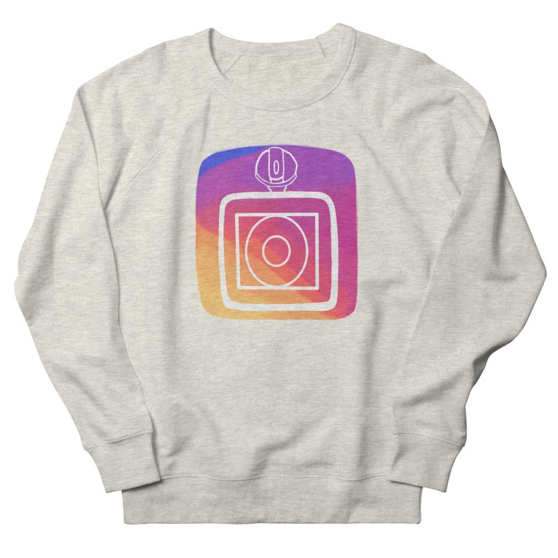 VXstagram Men's French Terry Sweatshirt by Sonyvx1000's Artist Shop