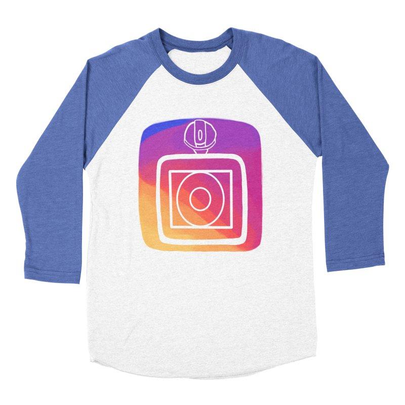 VXstagram Women's Baseball Triblend T-Shirt by Sonyvx1000's Artist Shop