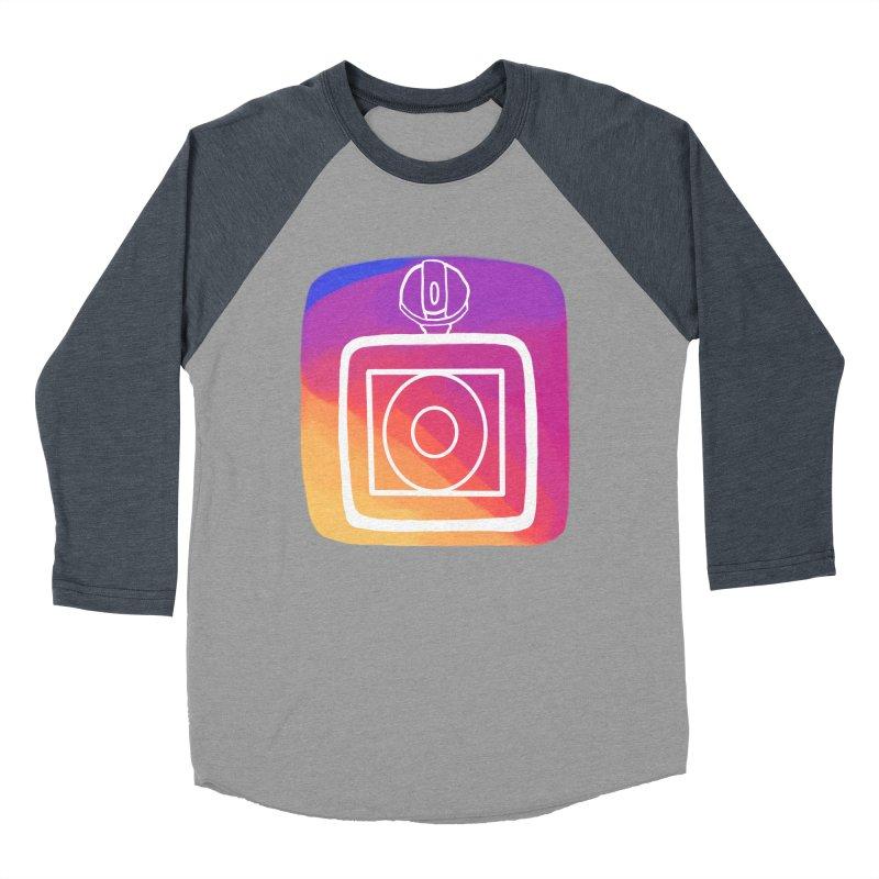 VXstagram Men's Baseball Triblend Longsleeve T-Shirt by Sonyvx1000's Artist Shop
