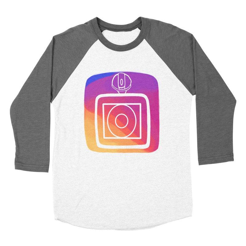 VXstagram Men's Baseball Triblend T-Shirt by Sonyvx1000's Artist Shop