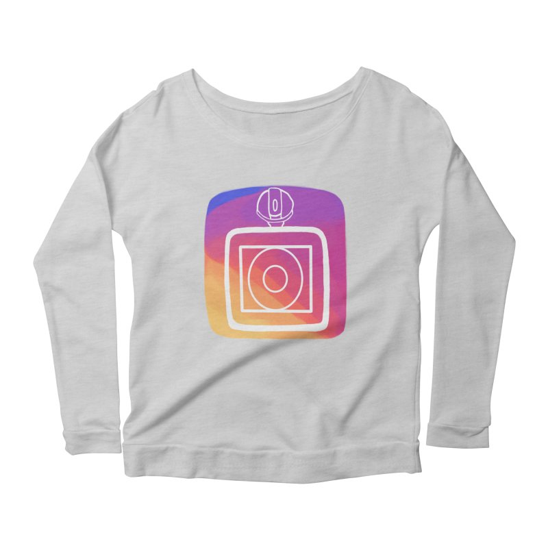 VXstagram Women's Scoop Neck Longsleeve T-Shirt by Sonyvx1000's Artist Shop