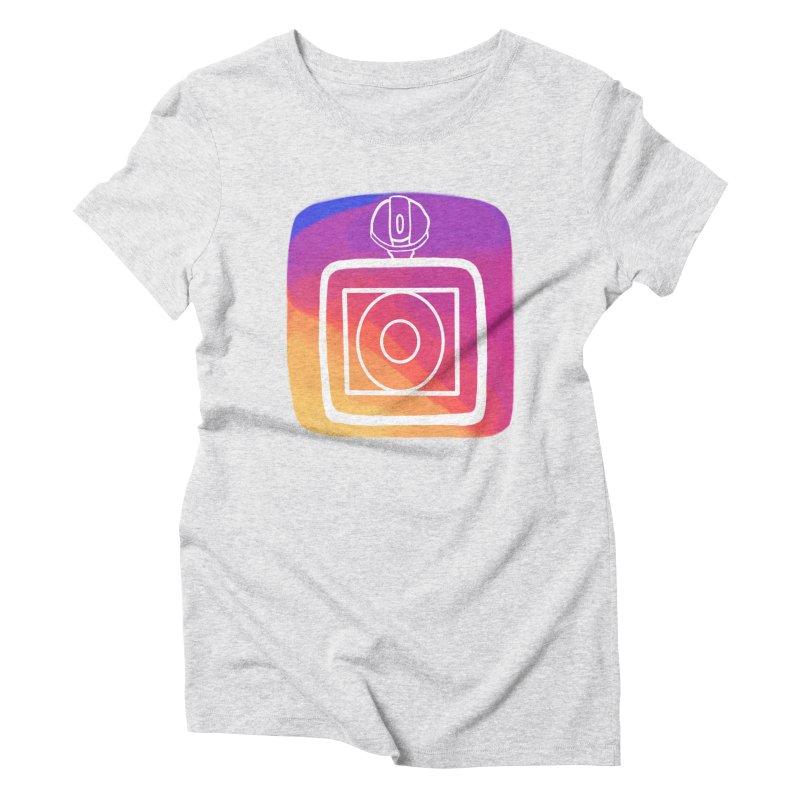 VXstagram Women's Triblend T-Shirt by Sonyvx1000's Artist Shop