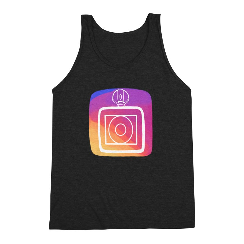 VXstagram Men's Triblend Tank by Sonyvx1000's Artist Shop