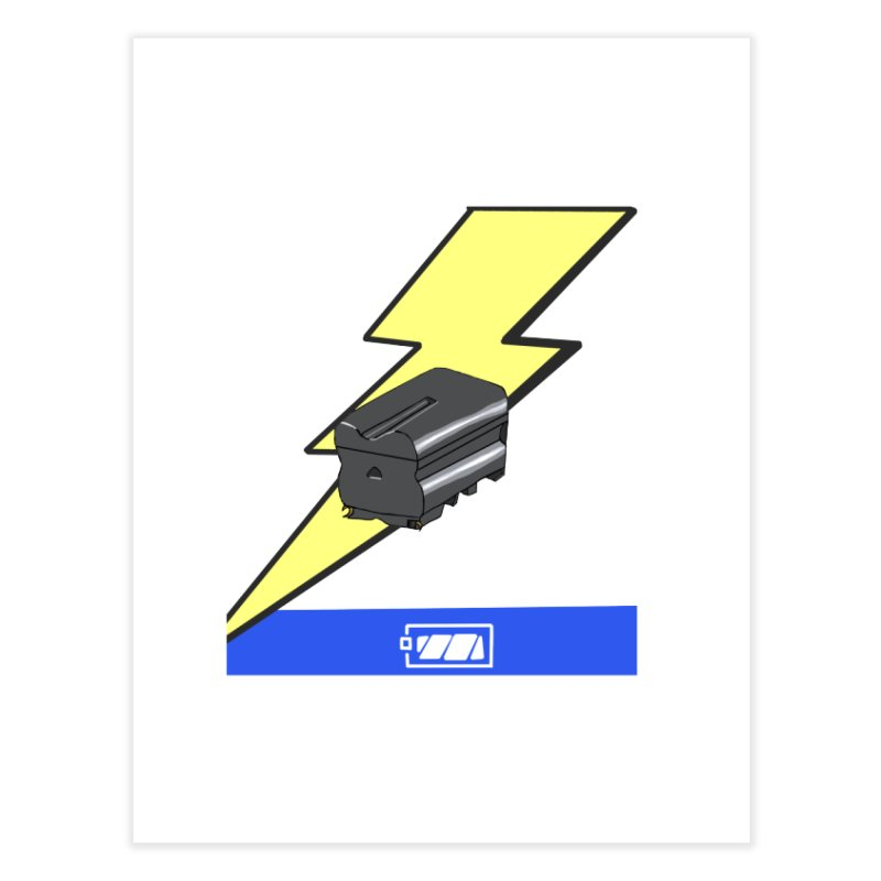 Fully Charged Home Fine Art Print by Sonyvx1000's Artist Shop