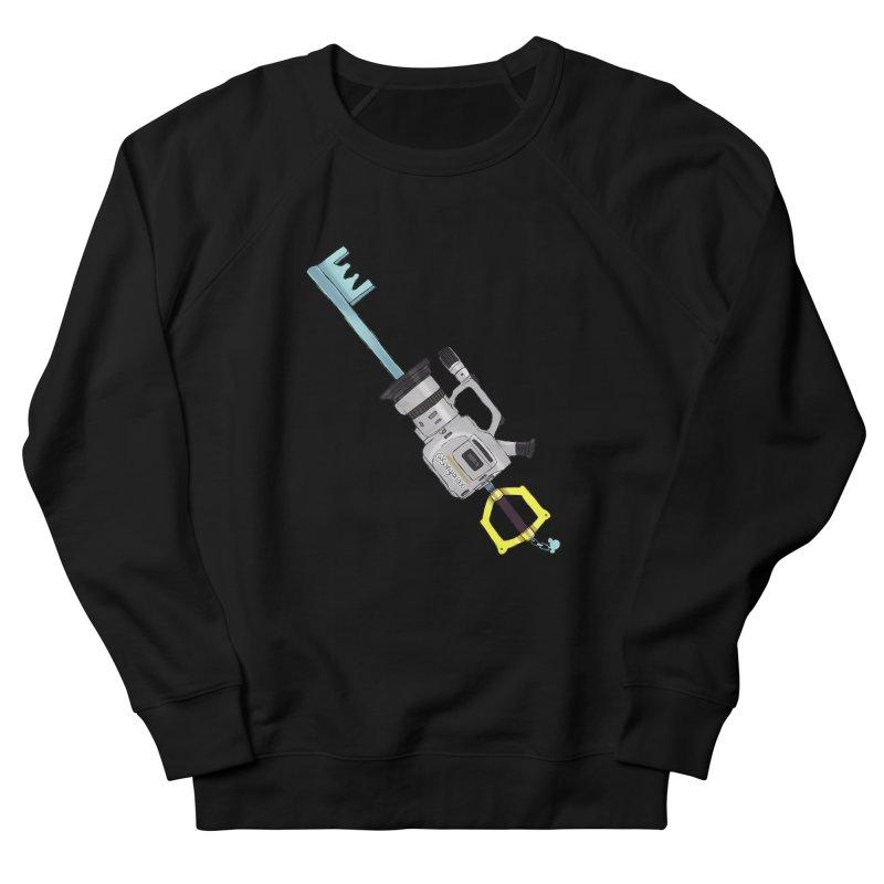 VX Keyblade in Men's French Terry Sweatshirt Black by Sonyvx1000's Artist Shop