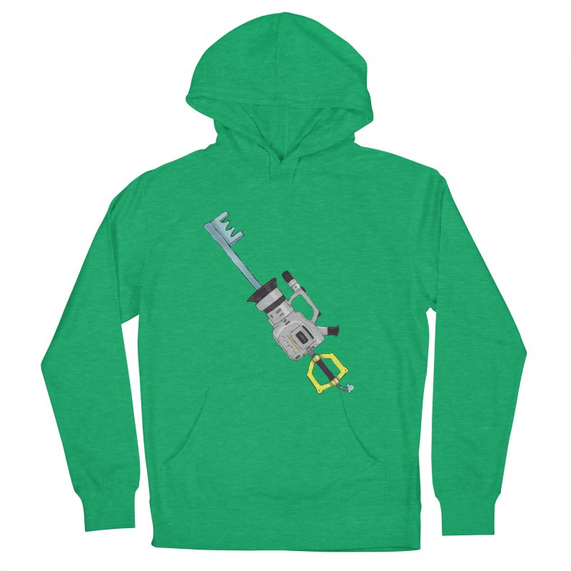 VX Keyblade Men's French Terry Pullover Hoody by Sonyvx1000's Artist Shop