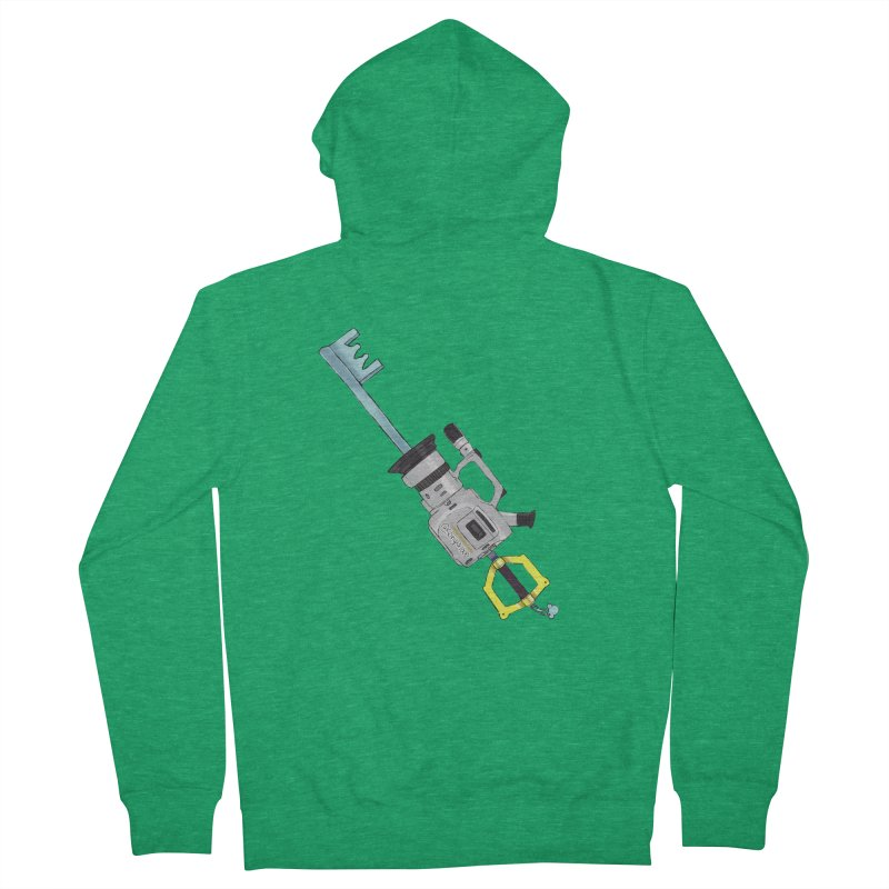 VX Keyblade Men's French Terry Zip-Up Hoody by Sonyvx1000's Artist Shop