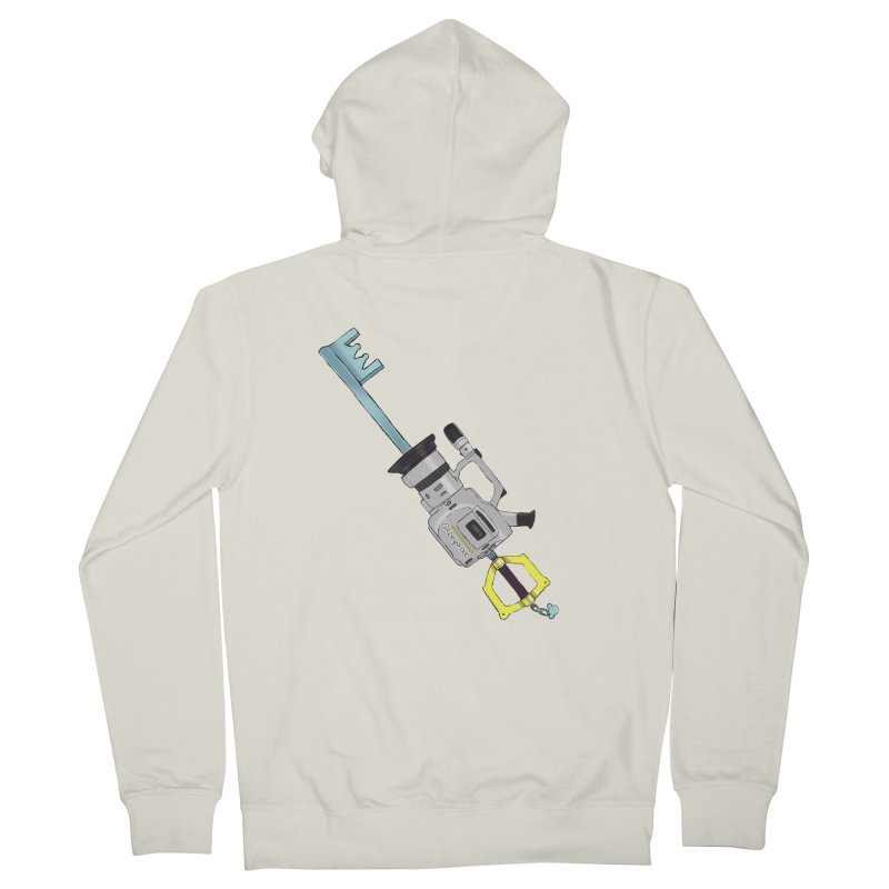 VX Keyblade Men's Zip-Up Hoody by Sonyvx1000's Artist Shop