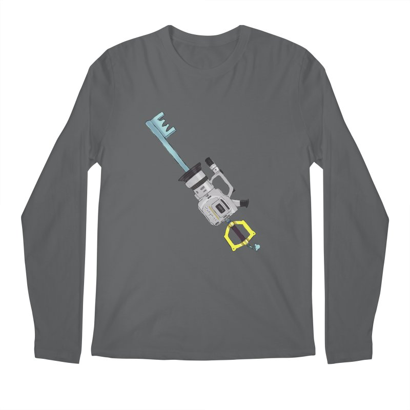 VX Keyblade Men's Regular Longsleeve T-Shirt by Sonyvx1000's Artist Shop